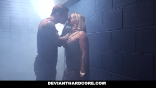 Preview 3 of DeviantHardcore - Submissive Dom Cali Carter Hardcore Fucking