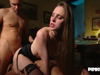 All in with Alexandra Stein Poker and Double Penetration