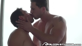 Preview 3 of FalconStudios Big Dick Muscle Hunk Fucks Cute Ass