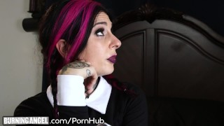 Preview 5 of Joanna Angel Assfucked as Wednesday Addams!