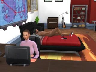 seducing lesbian friend sims 4