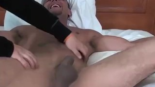 Bed is the to hunk muscular tickled tied and hard jose gay trimmed
