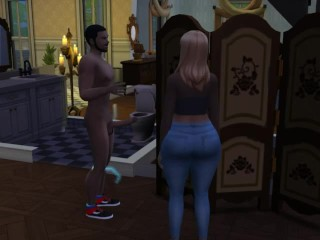 threesome sims 4