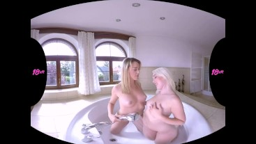 18vr.com Anny Aurora Sharing Your Dick With Her Friend Lovita Fate