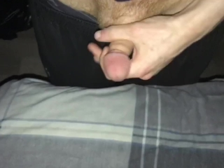 Jerking off ( clothed)