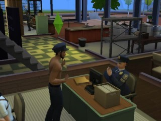 hard at work sims 4