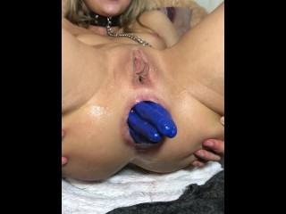 Girls4cock.com *** Teen Fist Fuck her Loose Hole
