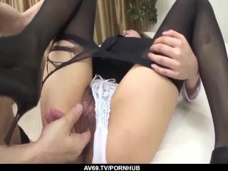 Fantastic sex scenes along insolent Emi Orihara - More at 69avs.com