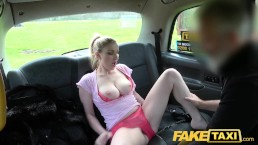 Fake Taxi Blue eyed Scottish babe loves rough fucking on back seat of taxi