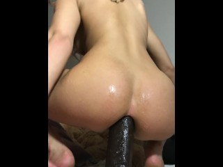 Dripping wet Japanese vixen gets excited by hardcore shagging