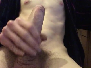 Extended after work wank