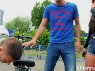 Killergram Emma Leigh is a bratty girly rider fucked by big cocked stud