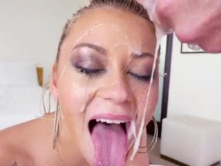 Nicolette Shea Planetsuzy Fucking, Balls Deep Throat Fucking after cum, throat pie compilation part 3 Big Dick Bukkake
