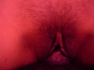 1000 likes gets full pussy close up creampie