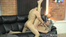 Tattooed Mickey Taylor barebacked by big cock of John Strap