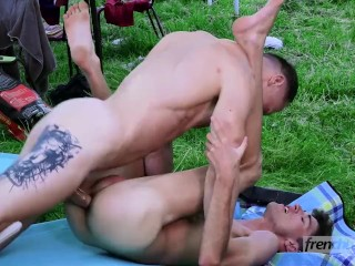 18 year old twink Matteo Lavigne is fucked deeply by Chris Loan