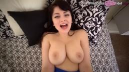 VIRTUAL SEX IMPREGNATION GIRL NEXT DOOR BRUNETTE POV - ELLIE IDOL