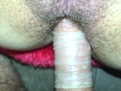Beautiful thick girl gets her tight ass fucked.