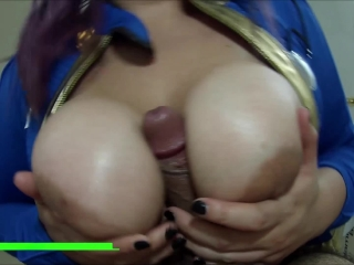 Fallout Cosplay BlowJob/TittyFuck Session