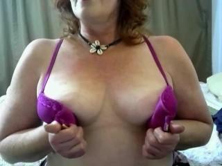 V50 Curvy Cougar seduces daughters ex