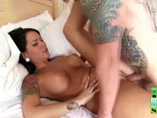 Www beeg hd com tattooed olivia rose fucked bigbreastssex big boobs brunette tattoo fin