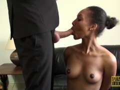 Lustful Marina with hairy by a pussy satisfied member of a Man