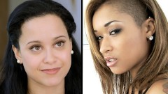 BLACK PEARLS - THE BEST EBONY PORN GIRLS - CUTE MODE  SLUT MODE - R&R05