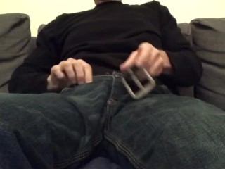 Just me jerking my cock