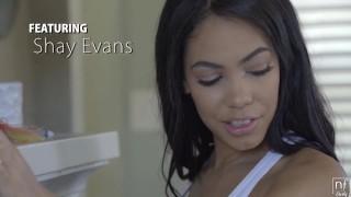 NFBusty - Shay Evans busty latina fucks a thick cock