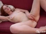 Yanks Redhead Fiery Charlotte Webbe's Hip Bucking Cum