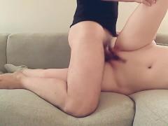 Sweet girl gets fucked sideways