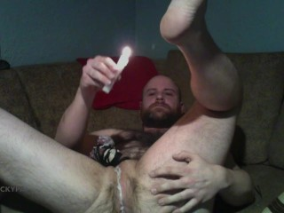 CBT Candle Wax Play Popperbate, Cockpa with Prince Albert 0g