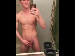 Sink cumshot
