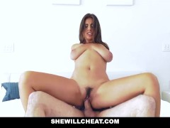 ShewillCheat - Babe With Big Tits Cheat For Her New Job