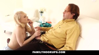 FamilyHookups Tight Blonde Teen Lily Rader Gets Fucked By Her Uncle