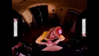 VRCosplayX.com Fuck Cindy Aurum In FINAL FANTASY XXX Parody Blonde tits