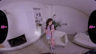 Preview 2 of 18VR.com Redhead Teen Elena Vega Craves For Creampie