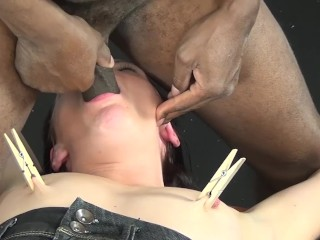 extreme interracial fetish lesson