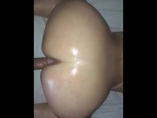 Wife anal movie pawg creaming from backshots pawg big ass big dick creamy pussy oil thi