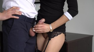 Creampie for pussy sexy anal her fucked tight ass and boss secretary stockings anal