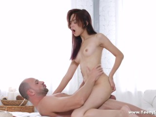 Petite Perfect Ass Fucking, Teeny Lovers- Michelle Can- Teeny enjoys sex and cumspray Pornstar Teen