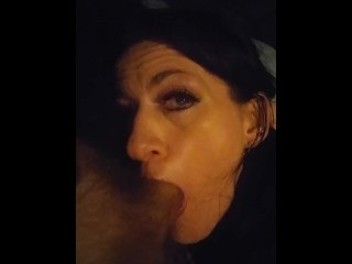 Scarlett sucking Johnny off