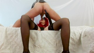 Latex mistress does prostate massage and blowjob Cock Milking, cum in mouth  prostate vibrator prostate massage amateur blowjob mistress blowjob prostate milking femdom milking prostate cum femdom blowjob prostate prostate orgasm mistress femdom pegging cum in mouth prostate blowjob femdom blowjob