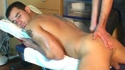 Paulo's big dick massage! (hetero male seduced for gay porn)