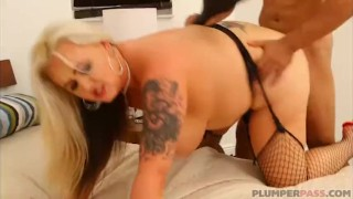 King Noire Dominates Big Booty Blonde MILF Kendra Kox