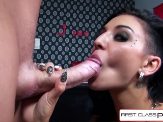Firstclasspov - Black Aimee Teen Sucking A Big Cock, Big Booty