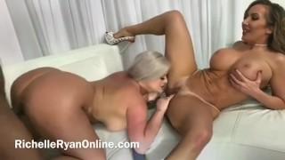 Porno gratis - Julie Cash & Richelle Ryan Op Bbc