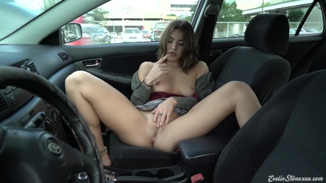Las vegas motorcars strip Parked car public masturbation strip tease evelin stone