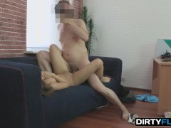 Dirty Flix - Rita Jalace - A girl in a black dress wants to be fucked!