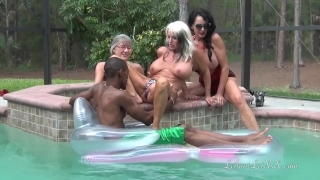 PenisColada - Three Milfs and a Black Cock View nerd